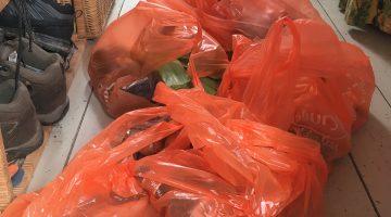 So many plastic bags